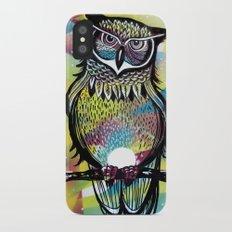 owl  iPhone X Slim Case