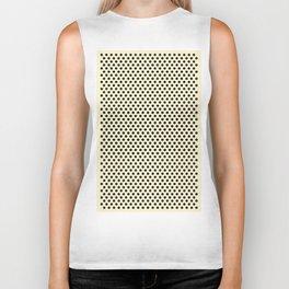 Dots Repeat Dominoes Print Biker Tank