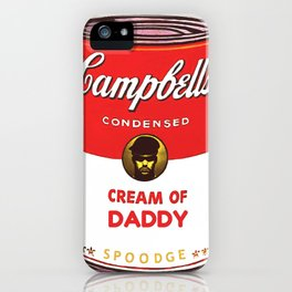 Cream Of Daddy iPhone Case