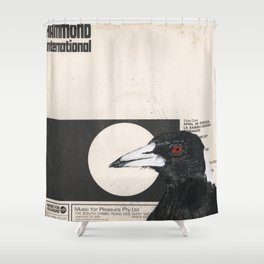 His Master's Voice - Magpie Shower Curtain