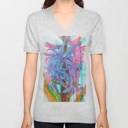 Abstract flower I Unisex V-Neck