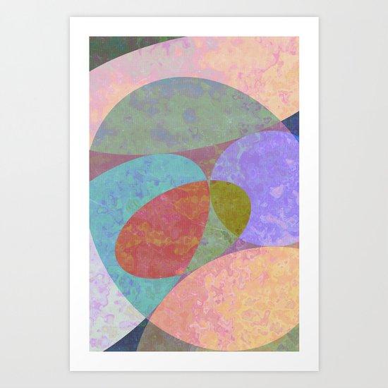 Stones 2 Art Print