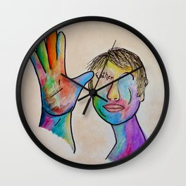 American Sign Language . . . Father Wall Clock