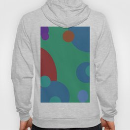 circles abstract Hoody