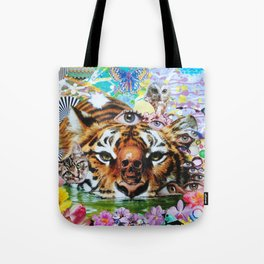 Tiger Style Tote Bag
