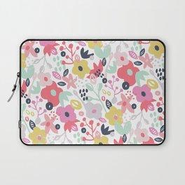 Springflower Print Laptop Sleeve