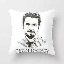 Team Crosby Throw Pillow