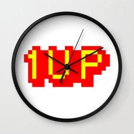 1UP Wall Clock