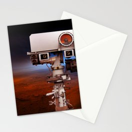Mars Curiosity NASA Stationery Cards