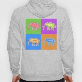 Elephants (Pop Art & Pattern) Hoody