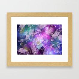 I Believe. Framed Art Print
