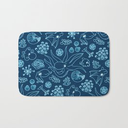 Cephalopods - Bioluminescence Bath Mat