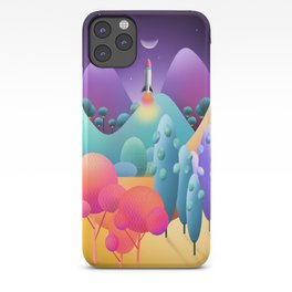 To The Moon Alice iPhone Case
