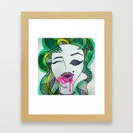 Glamorous Framed Art Print