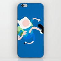 finn iPhone & iPod Skins featuring Finn by Polvo