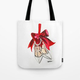Rock Studs Shoes Tote Bag