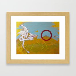 Of ancient poems and peace Framed Art Print