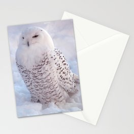 Harfang des neiges Stationery Cards