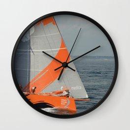To Sea! (Team Alvimedica) Wall Clock