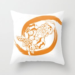 SFV DHALSIM Throw Pillow