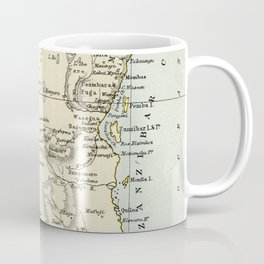 East Africa Vintage Map Coffee Mug