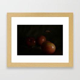Washington Cherries Framed Art Print