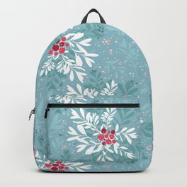 Christmas Floral and Berries Backpack