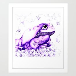 Froglette Art Print