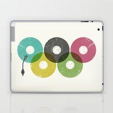 Olympic Records Laptop & iPad Skin