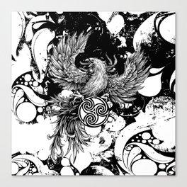 Phoenix Rising Canvas Print