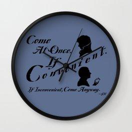 If Convenient Wall Clock