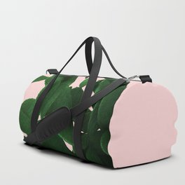 Cactus On Pink Duffle Bag