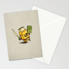 Cyber Pirate Stationery Cards
