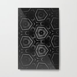 Brain cells Metal Print