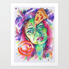 @pizzaface Art Print