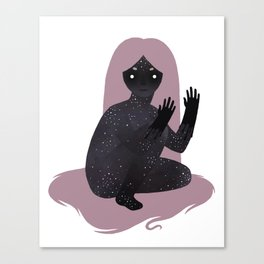 Space Girl 5 Canvas Print