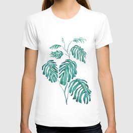 Monstera painting 2017 T-shirt