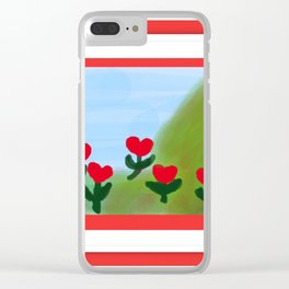 Hearts from a Rose Clear iPhone Case