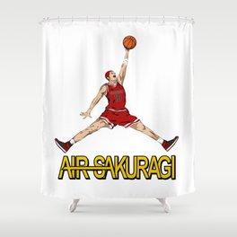 """Air Sakuragi"" Slam Dunk Anime Creative Design Shower Curtain"