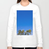 palm trees Long Sleeve T-shirts featuring Palm Trees by JacPfef