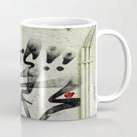ladybug Mugs featuring Ladybug  by Ethna Gillespie