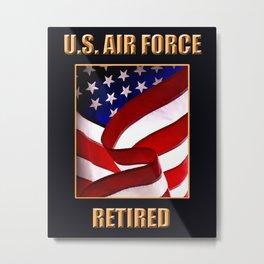 U.S. Air force Metal Print