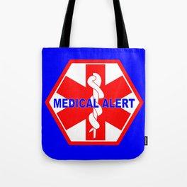 MEDICAL ALERT IDENTIFICATION TAG Tote Bag
