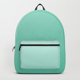 Minty Green  Gradient Backpack