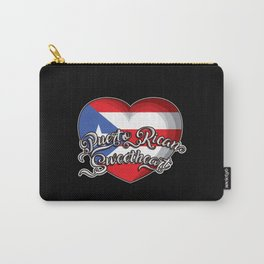 Puerto Rican Sweetheart - Puerto Rico Heart Carry-All Pouch