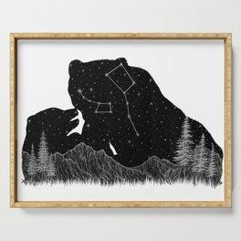 Ursa Major Ursa Minor Serving Tray