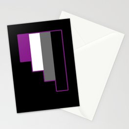 Asexual Stationery Cards