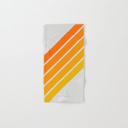 Orange Color Drift Hand & Bath Towel