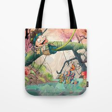 Jungle kid. Tote Bag