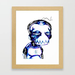 Heartbrochio Framed Art Print
